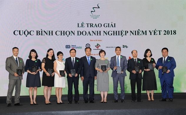 Lễ trao giải Cuộc bình chọn Doanh nghiệp niêm yết 2018
