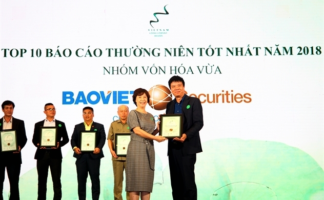 Công ty cổ phần Chứng khoán Bảo Việt: Top 10 báo cáo thường niên tốt nhất