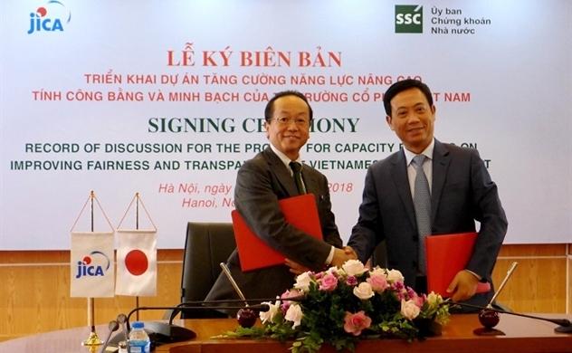Việt - Nhật ký Biên bản minh bạch thị trường cổ phiếu Việt Nam