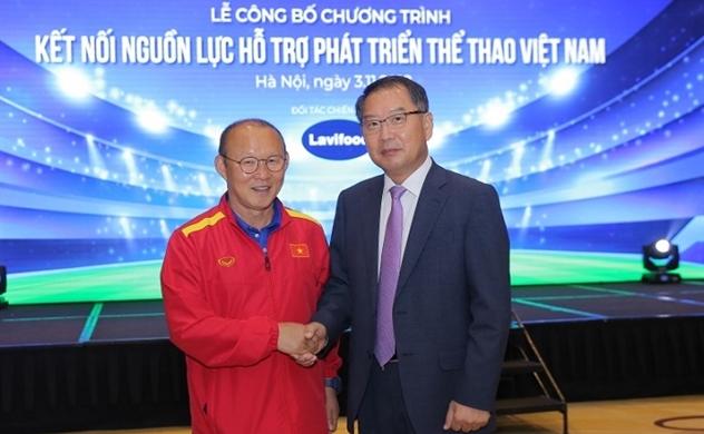 Lavifood tài trợ 5 tỉ đồng phát triển thể thao Việt Nam