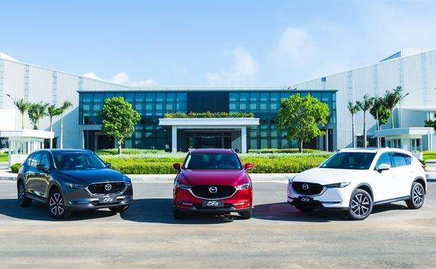Thaco công bố giá bán xe Mazda phiên bản màu mới