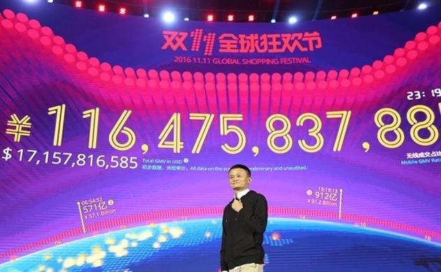 Ecommerce Trung Quốc vượt 30 tỉ USD trong Ngày Độc thân