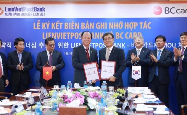 LienVietPostBank hợp tác cùng BC Card