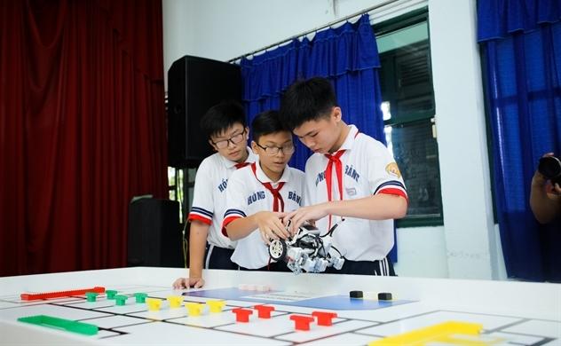Lễ Ra quân Cuộc thi Robot quốc tế WRO 2018