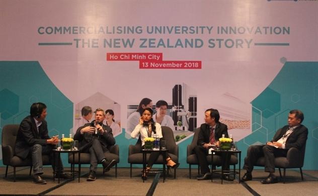 Thương mại hóa nghiên cứu đổi mới sáng tạo của đại học