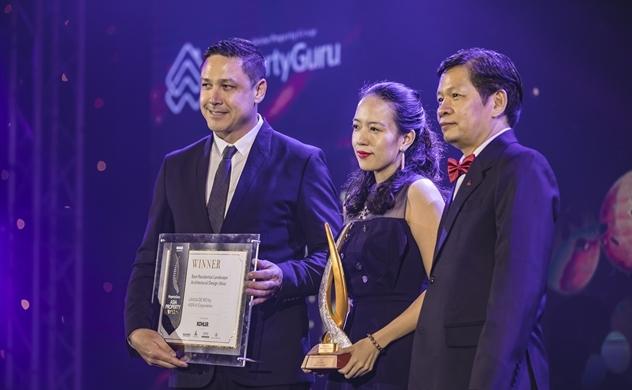 Kiến  Á được vinh danh 4 hạng mục tại Asia Property Awards 2018
