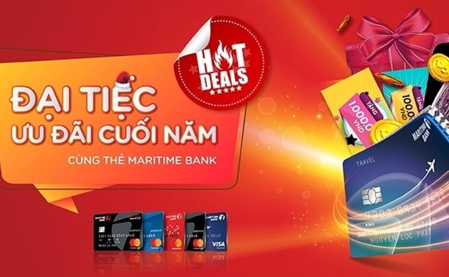 Đại tiệc ưu đãi cuối năm cùng Maritime Bank