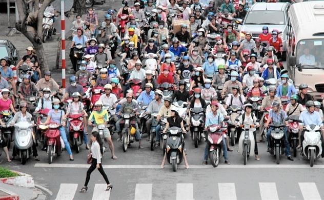 Thị trường xe máy Việt Nam 2018 sẽ đạt mốc khoảng 3,3 triệu xe bán ra