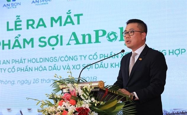 An Phát Holdings ra mắt sợi AnPoly