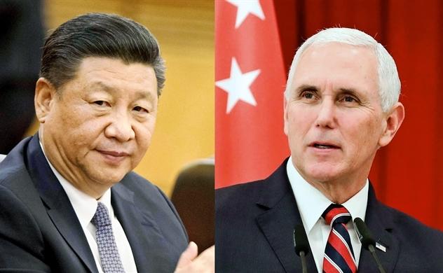 Đấu khẩu Mỹ - Trung  tại APEC 2018