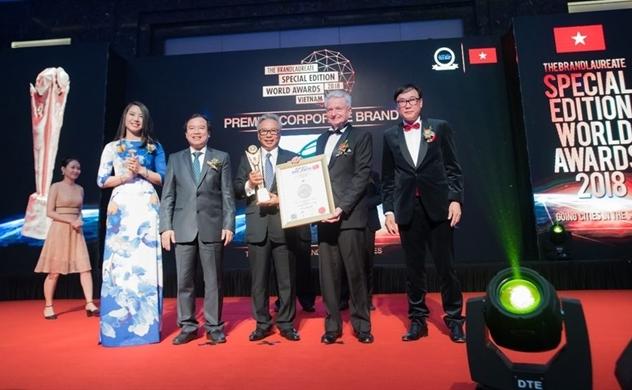 Ciputra Hanoi được vinh danh tại Giải thưởng Thương hiệu Xuất sắc Thế giới 2018
