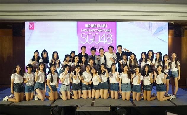 SGO48 ra mắt thành viên thế hệ thứ nhất