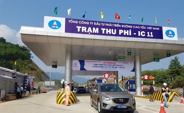 Thông xe nút giao IC-11 tuyến cao tốc Nội Bài-Lào Cai