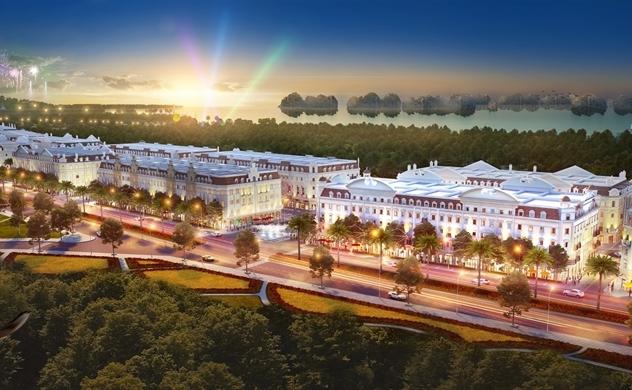"""Sun Plaza Grand World tái hiện """"khu phố châu Âu hoa lệ"""" tại Hạ Long"""