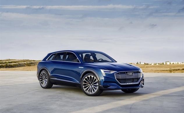 Audi vừa tiết lộ thách thức đối với mẫu Tesla S