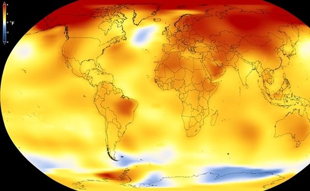 Khí nhà kính tăng lên mốc kỷ lục mới là 53,5 tỉ tấn