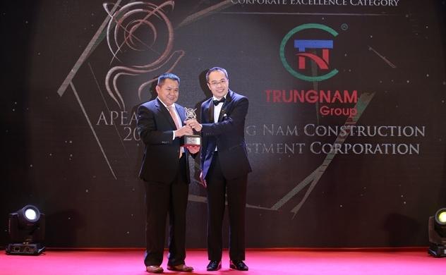 Trung Nam Group được Enterprise Asia vinh danh