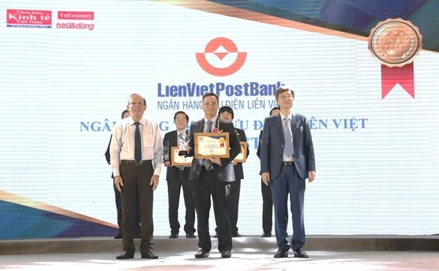 LienVietPostBank nhận cú đúp giải thưởng dành cho ngân hàng
