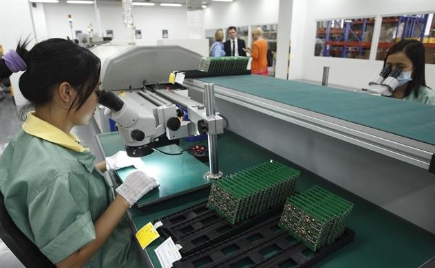 Chỉ số sản xuất toàn ngành công nghiệp tăng 10,1%