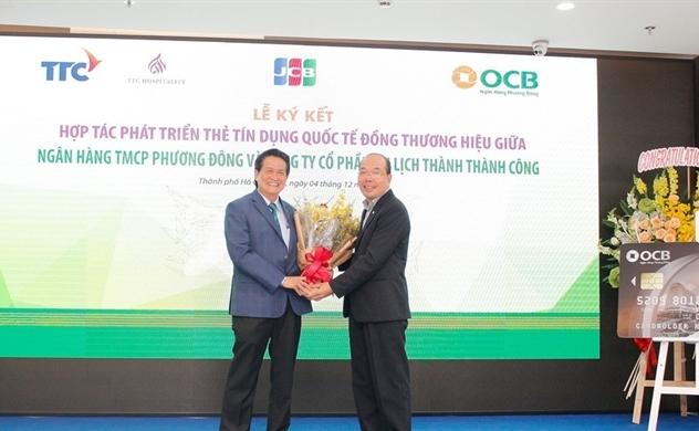OCB và TTC Hospitality mở thẻ tín dụng quốc tế
