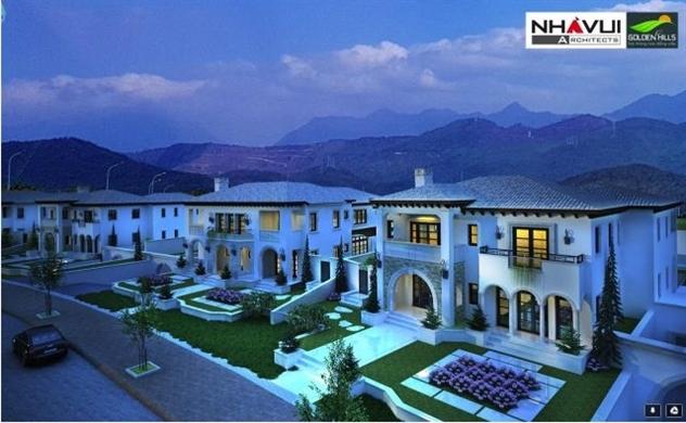 Nhà Vui đạt giải nhất thiết kế dự án Golden Hill City - Đà Nẵng