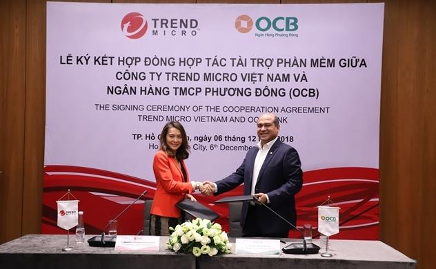 Trend Micro cung cấp tài khoản bảo mật thiết bị cho OCB
