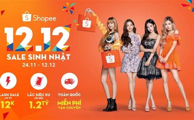 """Sự kiện """"12.12 Shopee Sale Sinh nhật"""" giảm giá lên đến 95%"""