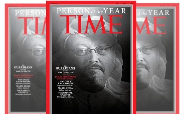 Các nhà báo là Nhân vật của năm 2018