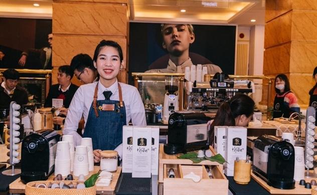 Ra mắt thương hiệu cà phê Trung Nguyên Legend tại  Trung Quốc