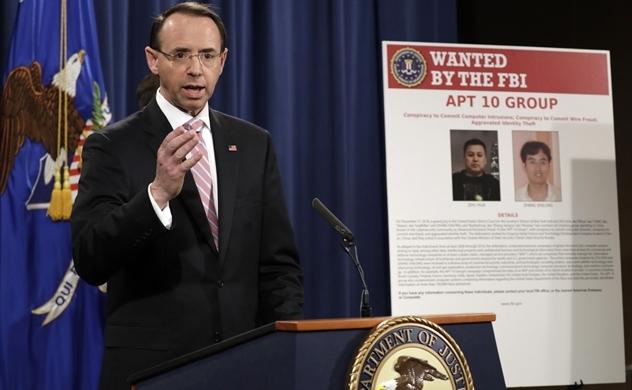 Mỹ  tố Trung Quốc ăn cắp thông tin ở 12 quốc gia