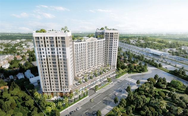 Vietcombank tài trợ tín dụng dự án Centum Wealth Complex