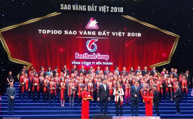 Benthanh Group: Top 100 Sao Vàng đất Việt năm 2018