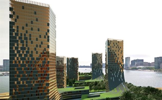 Những tòa nhà chọc trời bằng gỗ: Tương lai cho các thành phố
