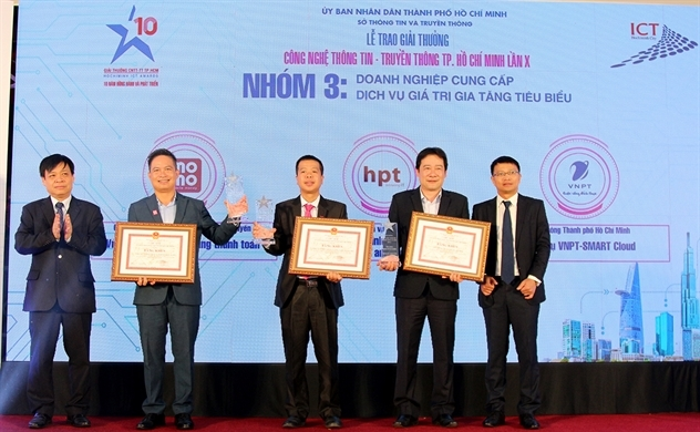 """MoMo nhận """"cú đúp"""" tại Giải thưởng CNTT - TT TP.HCM lần 10"""