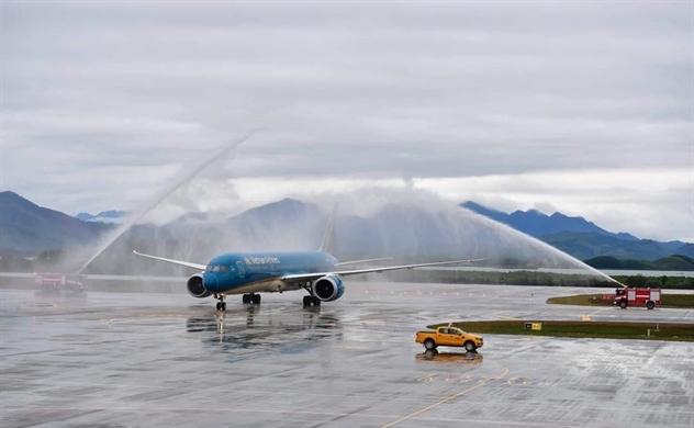 Khai trương Cảng hàng không quốc tế Vân Đồn