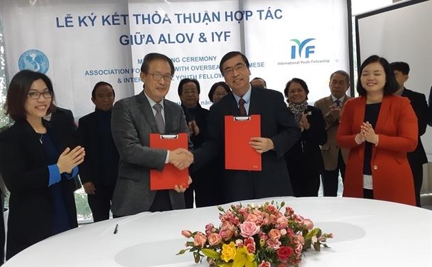 ALOV – IYF nâng quan hệ lên mức chính thức