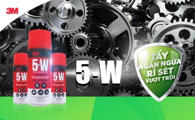 Khám phá 5-W: Chuyên gia tẩy sạch rỉ sét
