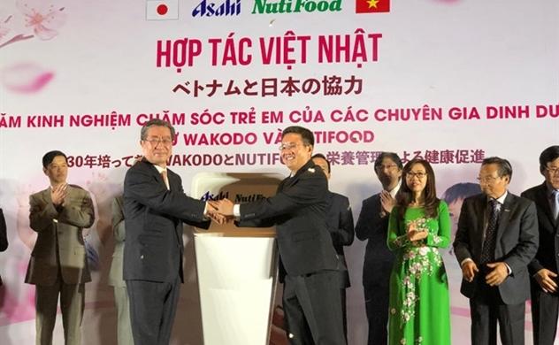 Nutifood mở liên doanh với tập đoàn Asahi