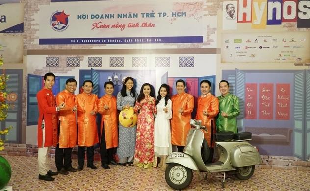 Hội Doanh nhân Trẻ TP.HCM họp mặt mừng Xuân