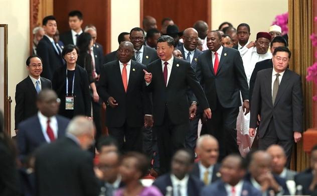 Các cường quốc chạy đua giành ảnh hưởng tại châu Phi
