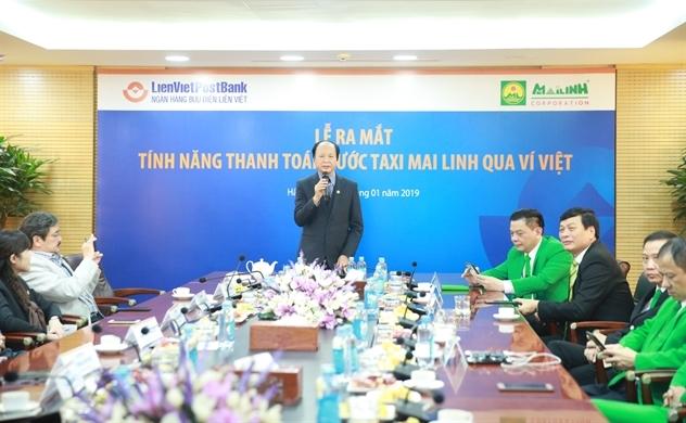 Mai Linh bắt tay Ví Việt thanh toán bằng QR Code
