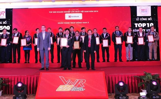 SeABank lọt top 500 doanh nghiệp lớn nhất Việt Nam