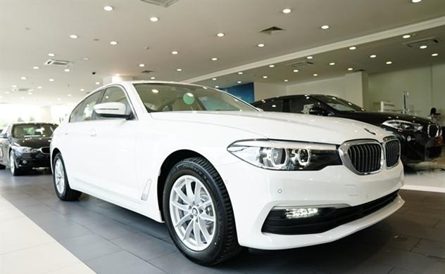 BMW Series 5 hoàn toàn mới đã có mặt tại Việt Nam