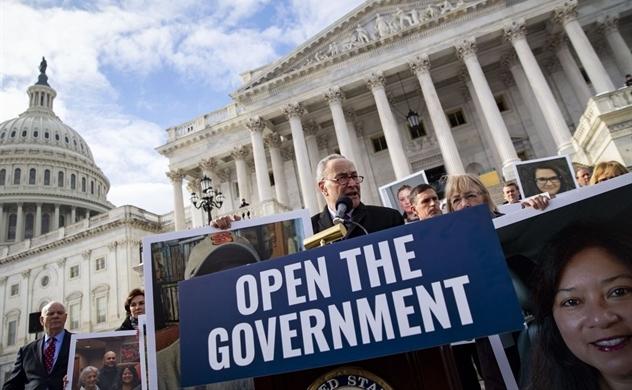 Thượng viện Mỹ sắp bỏ phiếu nhằm mở cửa lại chính phủ