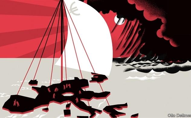Châu Âu lại bên bờ vực suy thoái?