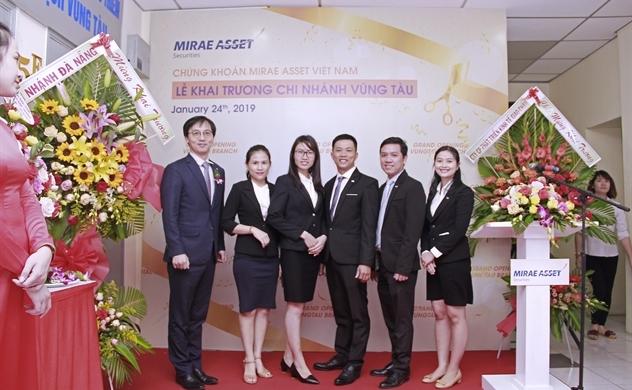 Chứng khoán Mirae Asset khai trương chi nhánh Vũng Tàu