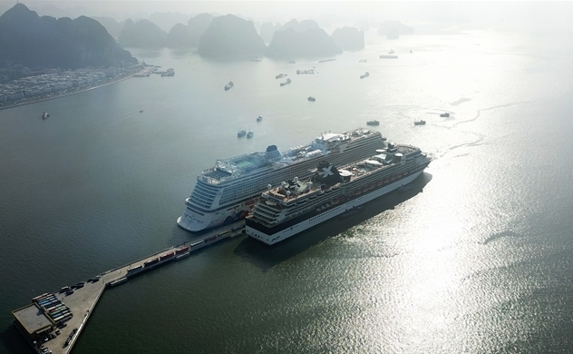 """Cảng tàu khách quốc tế Hạ Long: """"Cú hích"""" cho du lịch Quảng Ninh năm 2019"""