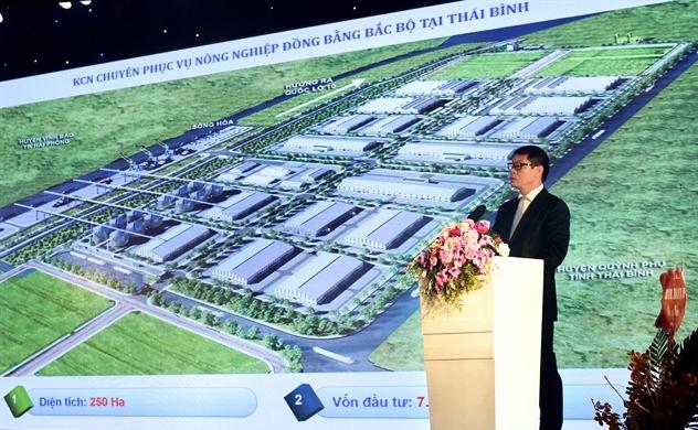 Thaco công bố  dự án Khu công nghiệp chuyên nông nghiệp tại Thái Bình
