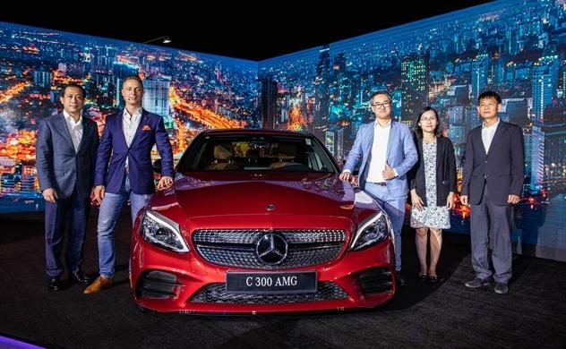 Mercedes-Benz giới thiệu mẫu xe C-Class nâng cấp