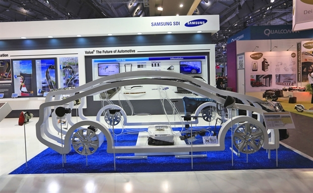 Hàn Quốc tăng tốc cuộc đua sản xuất pin ô tô điện